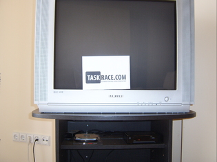 taskrace prepare to watch tv solution